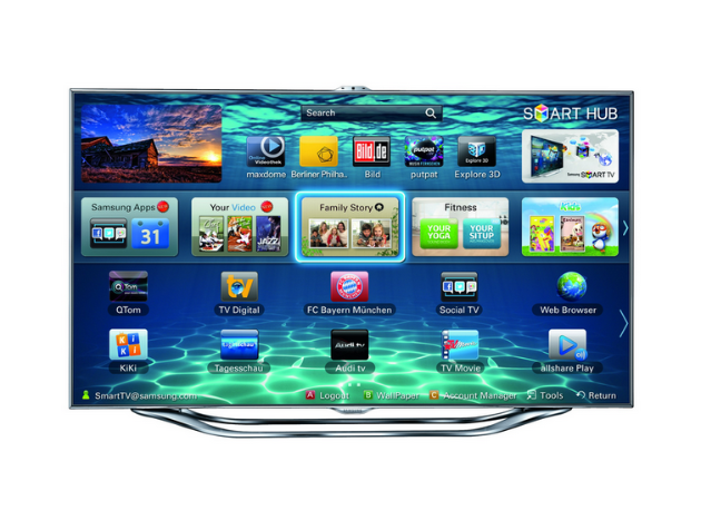 TEST: Samsung UE46 ES8090 – Das Smart TV Highlight 2012?