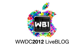 WWDC 2012 Liveticker - LiveBLOG - Apple Keynote