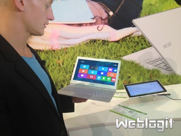 Acer Aspire S7: Ultraschlankes Ultrabook im Hands-on