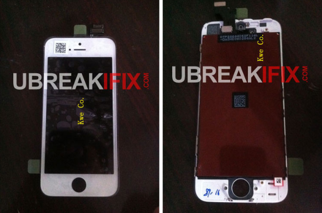 Front Panel des iPhone 5?