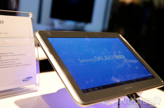 Samsung Galaxy Note 10.1: Jelly Bean Update noch in diesem Jahr