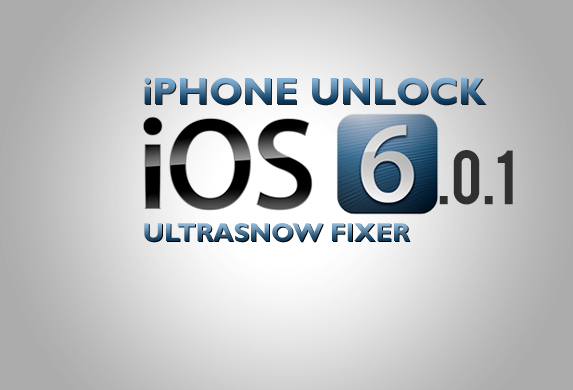 iPhone iOS 6.0.1 Unlock mit Ultrasn0w Fixer Patch möglich