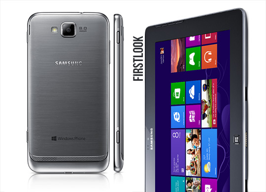 Samsung Ativ S und Ativ Tab auf dem Windows Phone 8 Event (Firstlook)