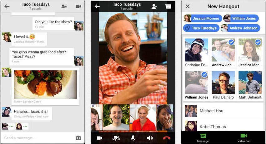 Hangouts-iOS-App