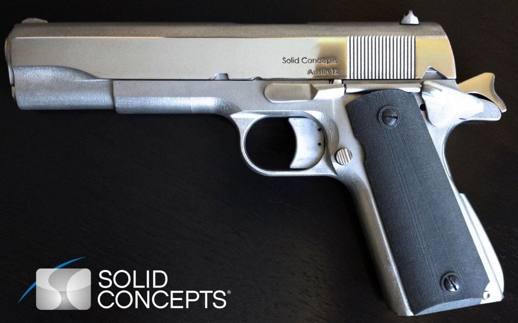 M1911-Pistole-3D-Drucker