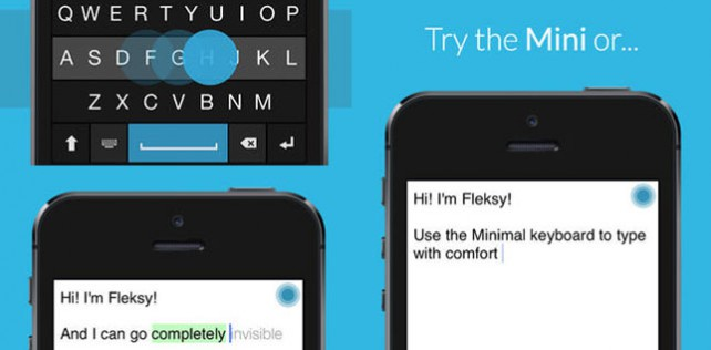 Fleksy: Alternative Tastatur für iOS-Apps