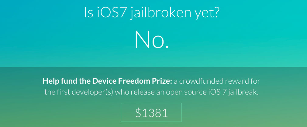 iOS-7-Jailbreak-Spendenprojekt