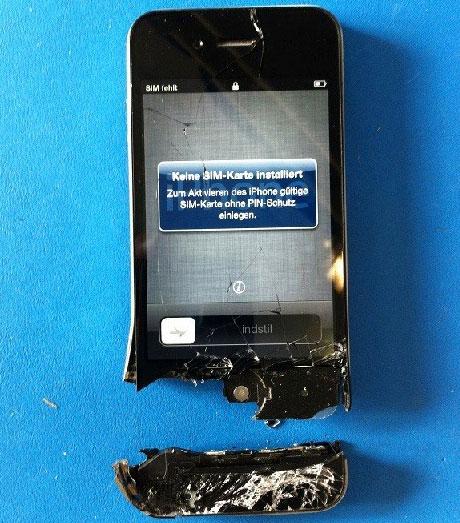 iPhone-Display-Schrott