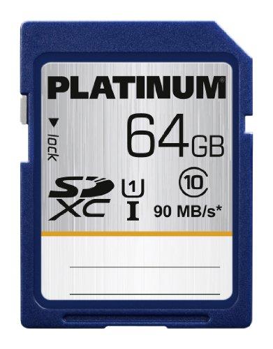 Platinum 64GB SDXC Class 10