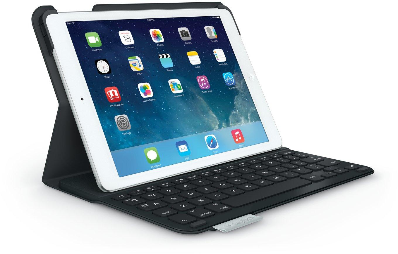 Logitech Ultrathin Keyboard Folio für iPad Air (QWERTZ-Tastatur) Carbon Black