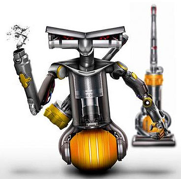 dyson plant den intelligenten roboter f r zu hause weblogit. Black Bedroom Furniture Sets. Home Design Ideas