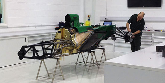 Caterham-Formel-1-Bolide
