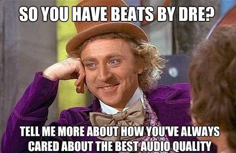 Willy Wonka schaut auf Dich herab