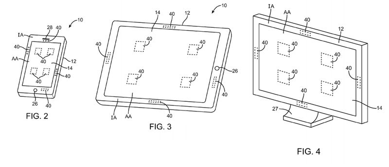 Apple Solarzellen-Patentbild